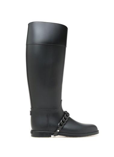 Givenchy Lastik Yağmur Çizmesi Siyah